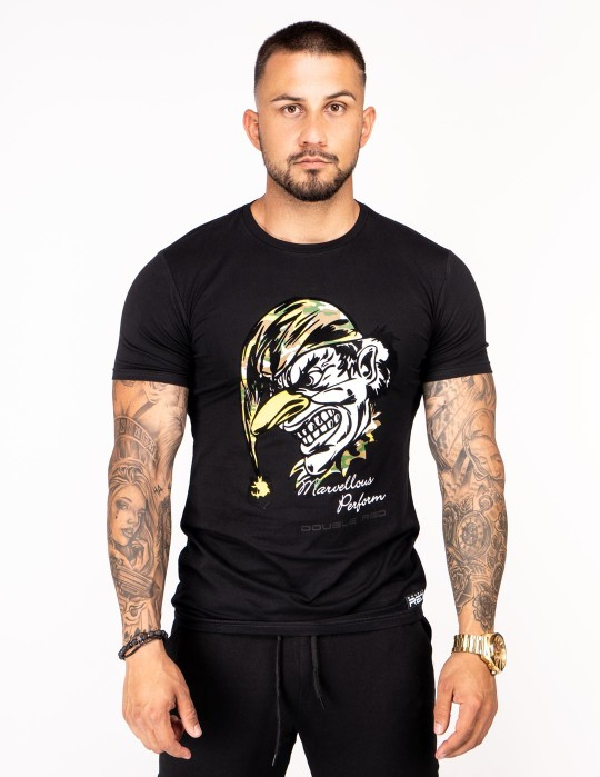 DOUBLE FUN T-shirt Joker Black