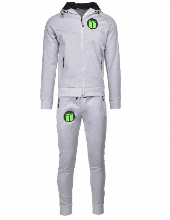 REFLEXERO SPORT IS YOUR GANG Tracksuit Grey/Silver