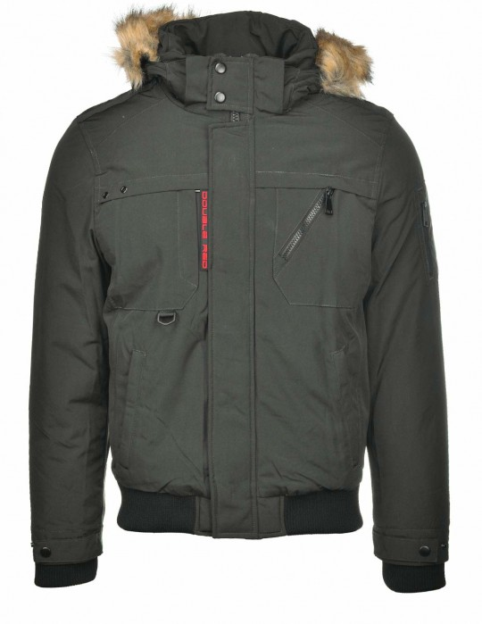 AERO Winter Jacket Green