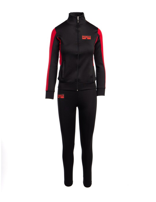 SPORT IS YOUR GANG Tracksuit Black
