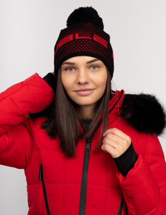NISEKO Black Unisex Winter Cap