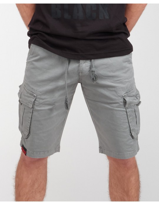 SOLDIER Shorts Silver