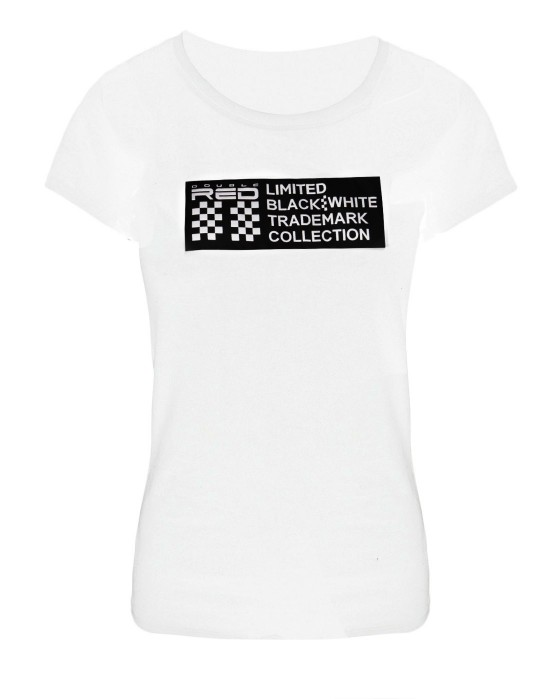 Women's T-shirt BW limited edition White