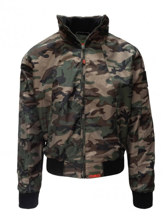 DR M Jacket Street Hero Green Camo Limited Edition