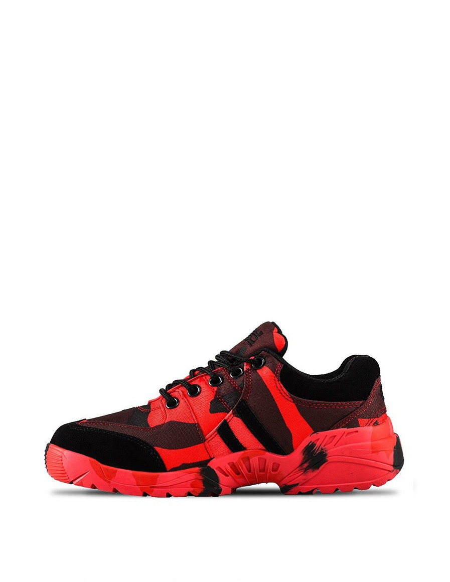 Boots Red Hell Low Range