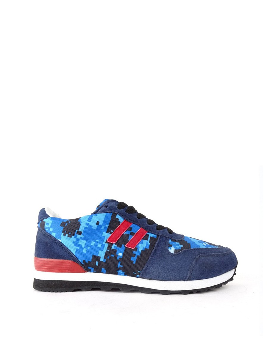 DOUBLE RED DR camo blue DIGI sneakers