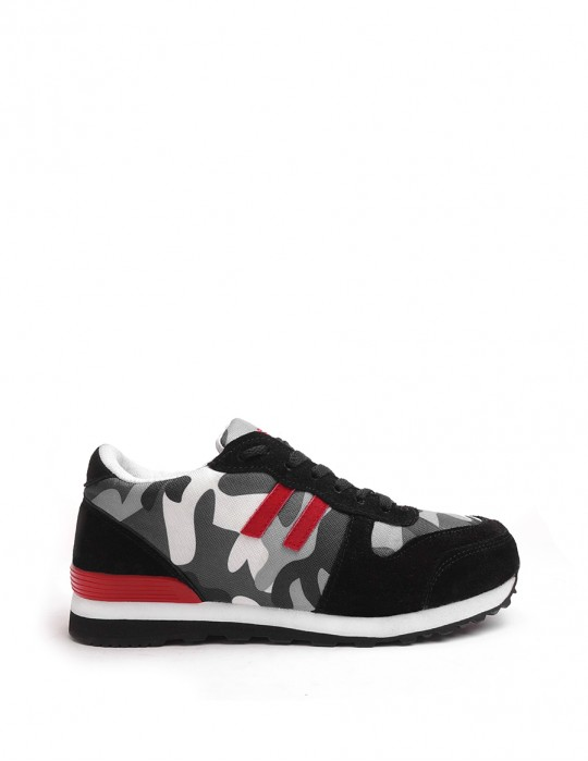 DOUBLE RED B&W Trainers