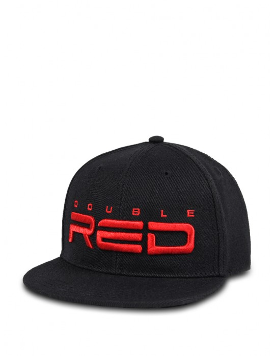 REDKID Snapback DOUBLE RED Cap Black