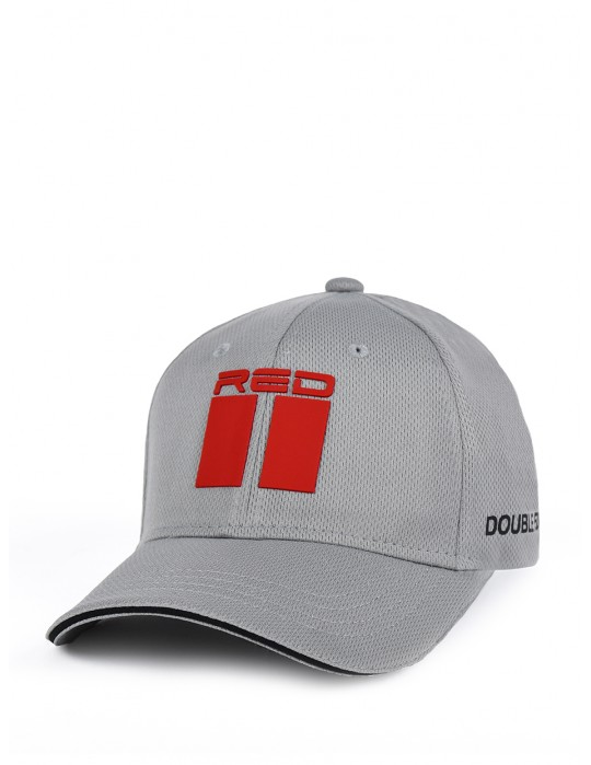 DOUBLE RED Cool Comfort Technology Golf 3D Cap Gray
