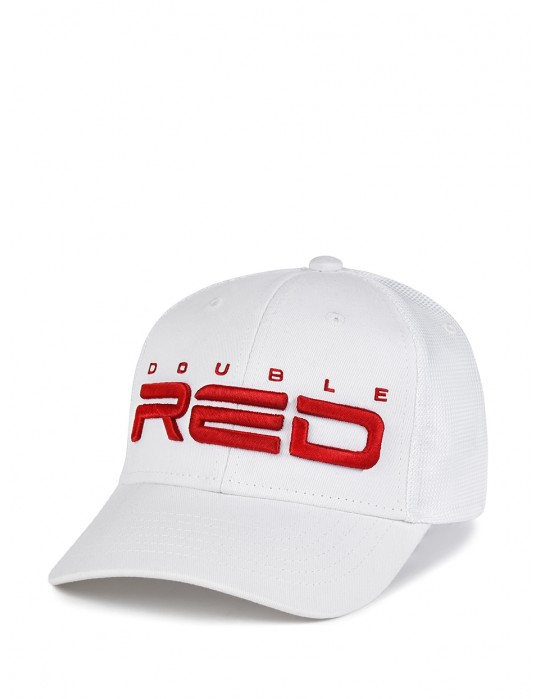 DOUBLE RED Airtech Mesh Cap White