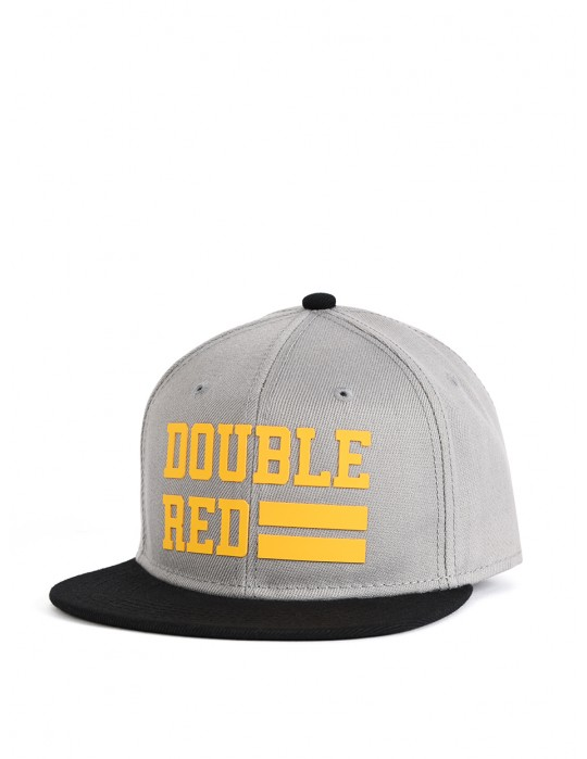 Snapback Cap UNIVERSITY OF RED Grey/Yellow