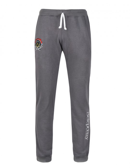 SELEPCENY GRAY ROYAL FORCE FINE COMFORT 70% COTTON SWEATPANTS