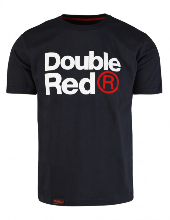 DOUBLE RED Trademark T-shirt Dark Gray