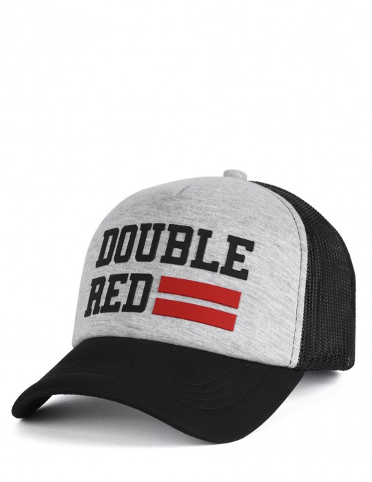 Trucker Cap UNIVERSITY OF RED Melange Gray/Black