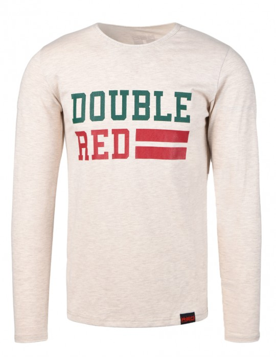 UNIVERSITY OF RED long sleeve T-shirt