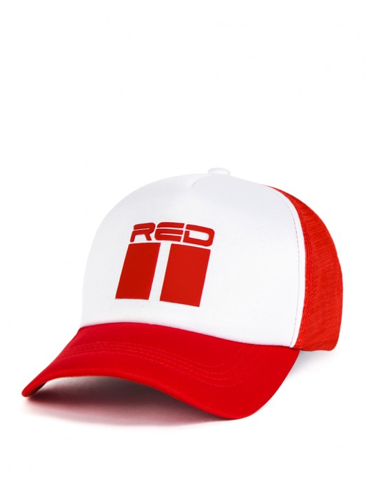 DOUBLE RED 3D red/white Cap