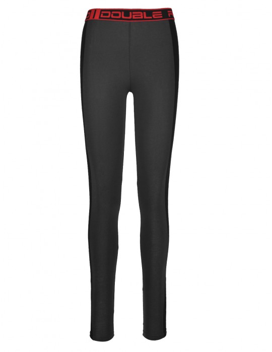 RED LEGGINS Grey/Black