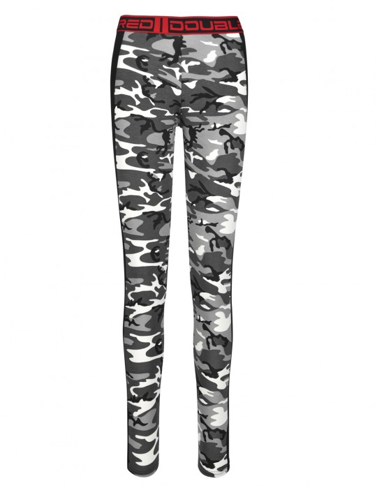 RED LEGGINS B&W Camo