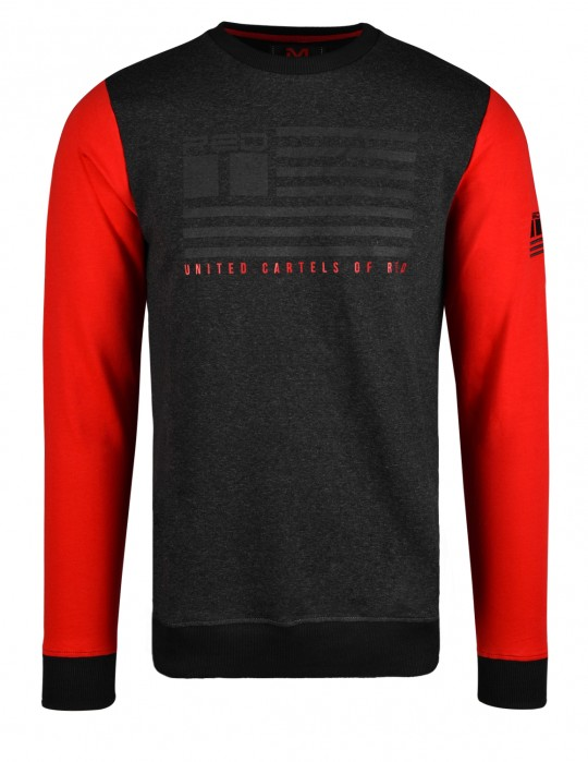 United Cartels Of Red UCR Gray/Red Sweatshirt