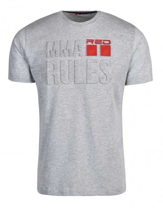 T-Shirt MMA RULES Grey
