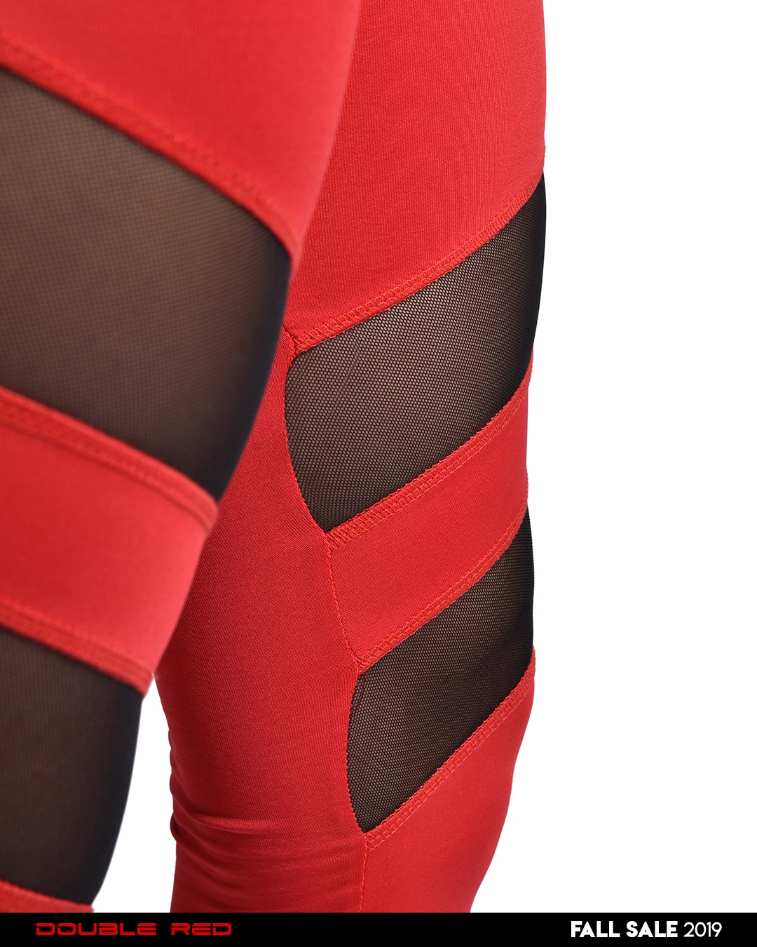 Leggins SPORT IS YOUR GANG PRO AIR TECH Red