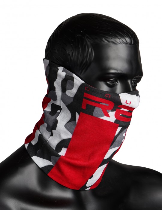 RED SQUAD Snood BW Camo